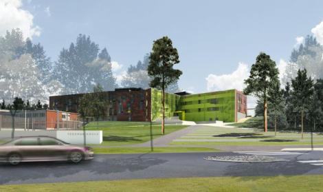 Isojen koulukeskusten palokatkourakointia Fireprolla