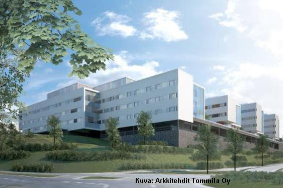 Firepro tekee Jorvin uuden vanhusten sairaalan palokatkourakan
